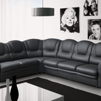 Texas Faux Leather Corner Sofa