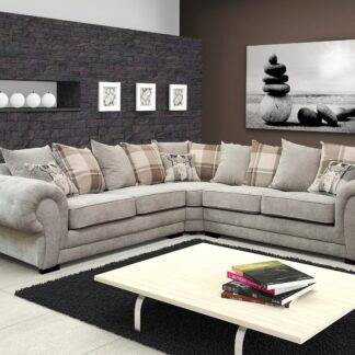 Verona Fabric Corner Sofa (2Crn2)