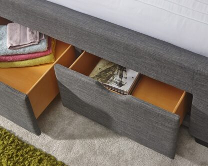 KOLN Fabric Drawer Bed