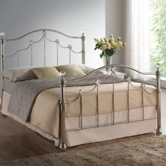 Latina Metal Bed Frame Double