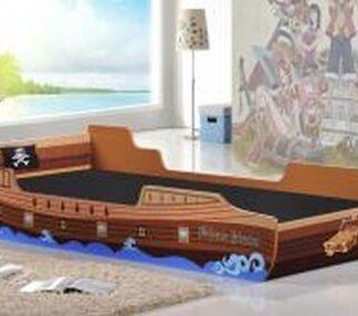 Caribbean Pirate Ship Bed, Single