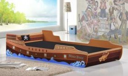 Caribbean Pirate Ship Bed, Single