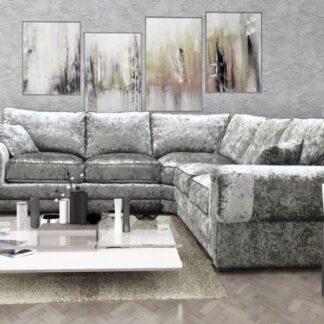 Tango Grey Corner Sofa