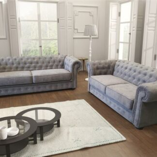 Chesterfield Fabric Sofa (3+2)