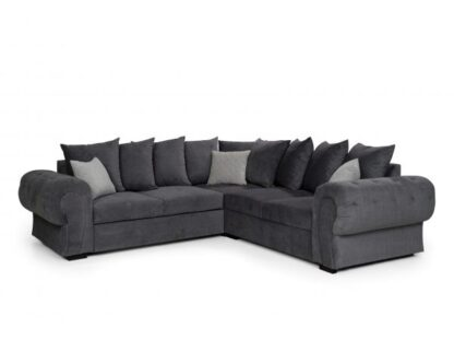 Nike Fabric Corner Sofa Bed