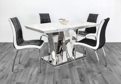 Boston Dining Set 4 Chairs
