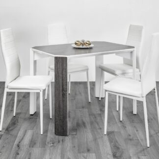 Raja 110 Dining Set 4 Chair