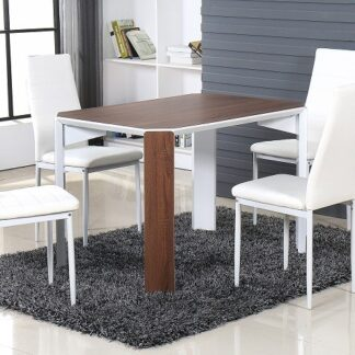 Raja 110 Brown Dining Set 4 Chair