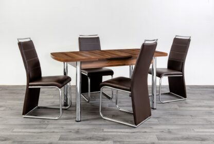 MODA EXTENDING DINING TABLE 4 CHAIRS