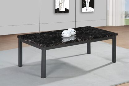 LUCY BLACK COFFEE TABLE