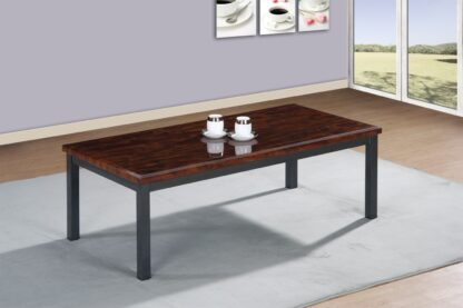 LUCY BROWN COFFEE TABLE