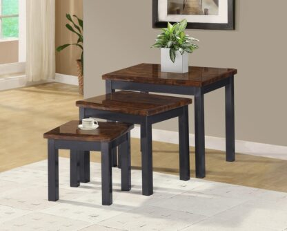 LUCY BROWN NEST OF TABLES