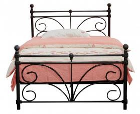 Separo Black Metal Bed Frame