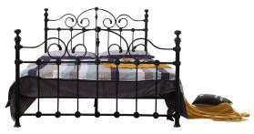 Inglewood Metal Bed Frame Black King Size