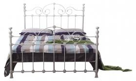 Inglewood Metal Bed Frame White King Size